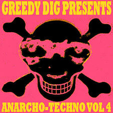 ANARCHO-TECHNO VOLUME 4 COMPILATION CD (CRASS / ANARCHO) PUNK - TECHNO