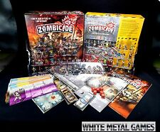 Zombicide Season 1 Board Game Painted EXACTLY AS PICTURED Zombiecide