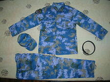 15's China PLA Hong Kong Navy Admiral Digital Camo Combat Clothing,Set,Summer.