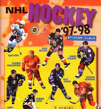 PANINI NHL VINTAGE HOCKEY 1997 98  ALBUM + COMPLETE STICKERS SET FACTORY SEALED