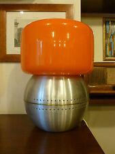 Lampada in vetro di Murano Venini Mazzega vintage anni 70 space age design lamp