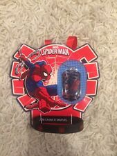 Marvel Spider-Man Dog Tag Necklace + Wrist Band New In Package