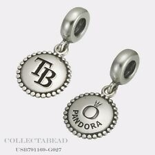 Authentic Pandora Sterling Silver Tampa Bay Rays Charm Dangle USB791169-G027