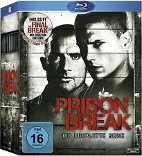PRISON BREAK DIE KOMPLETTE SERIE INKLUSIVE THE FINAL BREAK BLU-RAY