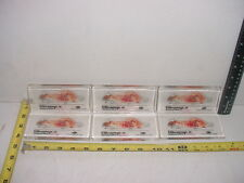 (6) Six Lucite Paperweights Pfizer Vibramycin Doxycycline w/ Lab Rat  TCBC-67