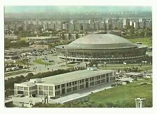 Radio Bucharest, Romania QSL card 1984, Central Pavillion of the Exhibition