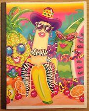 Lisa Frank Vintage 1990 Wireless Notebook Banana Fruit Designer Collection