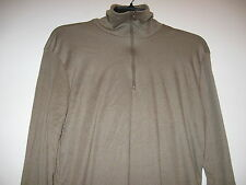 GENUINE US MILITARY LWCWUS LIGHTWEIGHT COLD WEATHER LONG UNDERWEAR TOP SMALL EXC