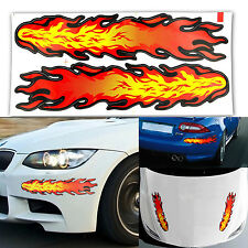 Red Yellow Flames Decal Style Sticker for Car Motorcycle Graphic Vinyl Car Decal