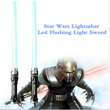 Star Wars Cosplay Acoustic Laser Sword Darth Vader Lightsaber Combo Led Flashing
