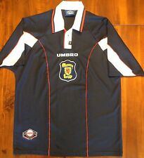 Umbro Scotland 1996-1998 Home National Soccer Jersey World Cup Mens Large