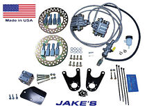 Jake's Club Car Golf Cart Front Disc Brake Kit fits Jake's DS 81-08 Spindle Kit