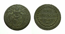 pcc1583_15) Stato Pontificio Pio VI (1775-1799) - Due Baiocchi Romani AN XII