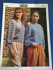 Studley Knitting Pattern Women's Cardigans 32620