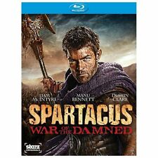 Spartacus: War of the Damned - Season 3  (Blu-ray, 2013, 3-Disc Set)