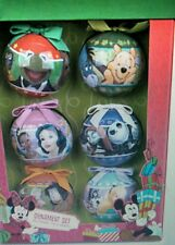 World of Disney Decoupage Ornament Set