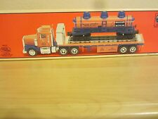 Lionel  18410 Flatbed Truck with 3 Dome Tank Car w/Sounds
