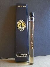 TONKA IMPERIALE GUERLAIN L'ART LA MATIERE PERFUME EDP 0.12 OZ 3.8 ML SAMPLE VIAL
