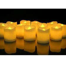 24pcs LED Flameless Tealights Battery Operated Flickering Tea Light Led Candles