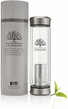 UEndure Tea Infuser - Tea Tumbler Tea Cup with Loose Leaf Tea Strainer - Portabl
