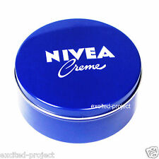 REAL Original German NIVEA Skin Hand Cream In Big Blue Tin - 250ml/8.45 fl oz