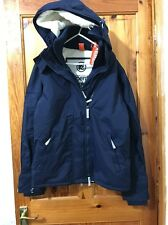 SUPERDRY Mens Hooded Sherpa Windcheater Winter Jacket UK Size L BNWT!