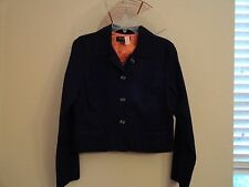 Tara Jarmon For Target Black Crop Jacket Fully Lined XL Gently Used