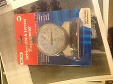 New Comark Instrument RFT2AK Stainless Steel Refrigerator/Freezer Thermometer