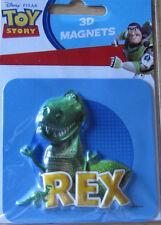 Toy Story * Rex  * 3D Magnet * ca. 8 x 8,5 cm * Disney  * Neu  (5)