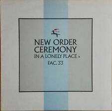 "NEW Order/Joy Division-ceremony 12"" EP vinile"