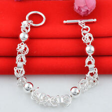 Jewelry Fashion  925 silver  chain Bracelet gift for women N-101