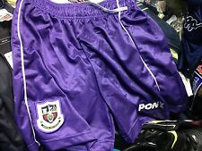 TOTTENHAM HOTSPUR SHORTS200`1/2 INX/S SMALL 28 inch AT £9