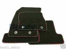 Brand New! GENUINE FORD FOCUS ST 2015 TAILORED CARPET MATS RED STITCH RRP £62