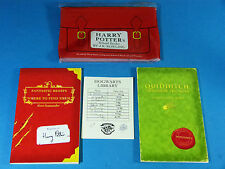 HARRY POTTER School Books; FANTASTIC BEASTS & QUIDDITCH, 2001, 1st/1st complete.