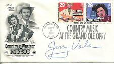 JERRY VALE GOODFELLAS / STAR SPANGLED BANNER SINGER SIGNED FDC AUTOGRAPH
