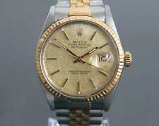 100% Authentic ROLEX OYSTER PERPETUAL DATEJUST Automatic Mens Watch ref.16013