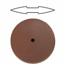 Medium Silicone knife edge Rubber Wheel (PACK OF 5) for Polishing jewellery Pend