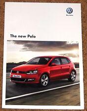 2009 NUOVO MODELLO VW POLO BROCHURE DI VENDITA-SEL SE S Moda-CONDIZIONE quasi nuovo