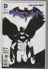 DC Comics BATMAN 10 NEW 52 1:100 VARIANT  BLACK WHITE COVER Snyder capullo