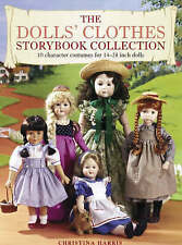 """The Dolls Clothes Storybook Collection 10 costumes for 14-25"""" dolls full pattern"""