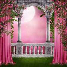 Romantic 10'x10' CP Backdrop Computer-painted Scenic Background ZJZ-088
