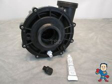 "Universal Spa Hot Tub Pump Wet End 2"" X 2"" 48 or 56 Frame 3 HP Barb Video How To"