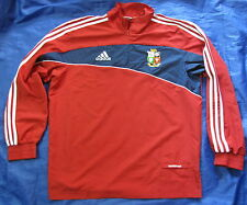 BRITISH AND IRISH LIONS RUGBY jacket top ADIDAS South AFRICA 2009 /adult SIZE M