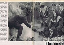 Coupure de presse Clipping 1961 Le Crash de Bruxelles   (4 pages)
