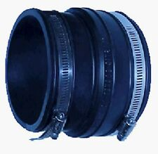 """P1056-64 FERNCO 6"""" x 4"""" FLEXIBLE REDUCING COUPLING PIPE CONNECTOR"""