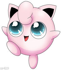 "9.5"" POKEMON  JIGGLYPUFF ANIME CHARACTER BIRTHDAY WALL DECOR CUT OUT"