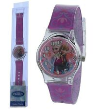 Frozen Elsa & Anna Analog Watch with printed Band in Long PVC Box Great Quality