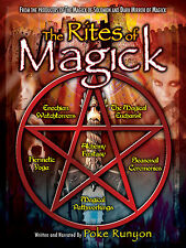 The Rites of Magick: Rites, Magic, and Powerful Techniques, Hermetic Yoga DVD!!