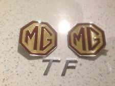 Mg BADGE GRIGLIA ANTERIORE E POSTERIORE BOOT SCUDETTI E TF BADGE PER MG TF