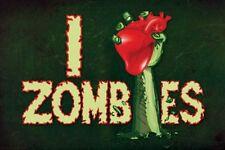 FANTASY POSTER Zombies I Heart Zombies